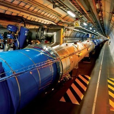 Tunnel at the Large Hadron Collider